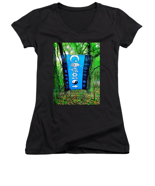 All Are One Women's V-Neck (Athletic Fit)