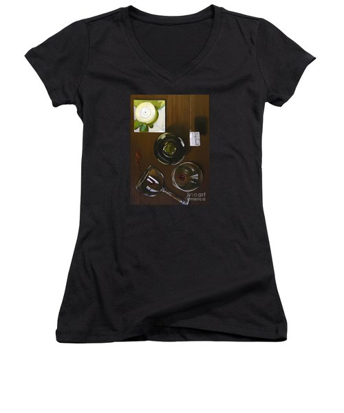 All Looked Fine From Our Perspective Women's V-Neck T-Shirt