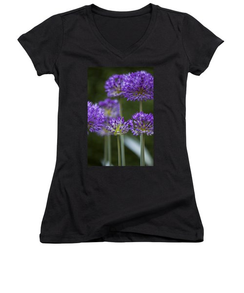Alliums Women's V-Neck (Athletic Fit)