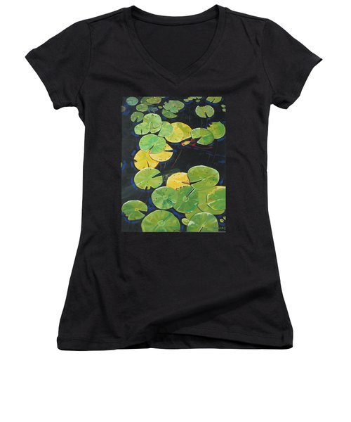 Alluring Women's V-Neck T-Shirt (Junior Cut)