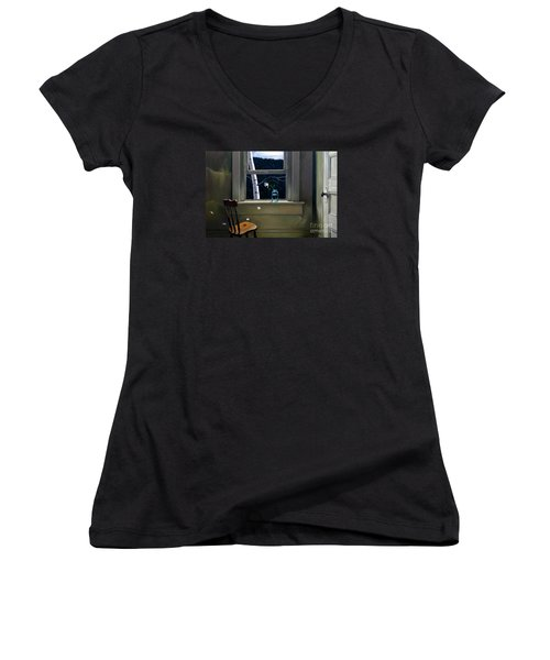 Always Here Women's V-Neck T-Shirt