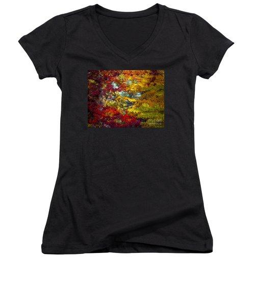 Amber Glade Women's V-Neck T-Shirt