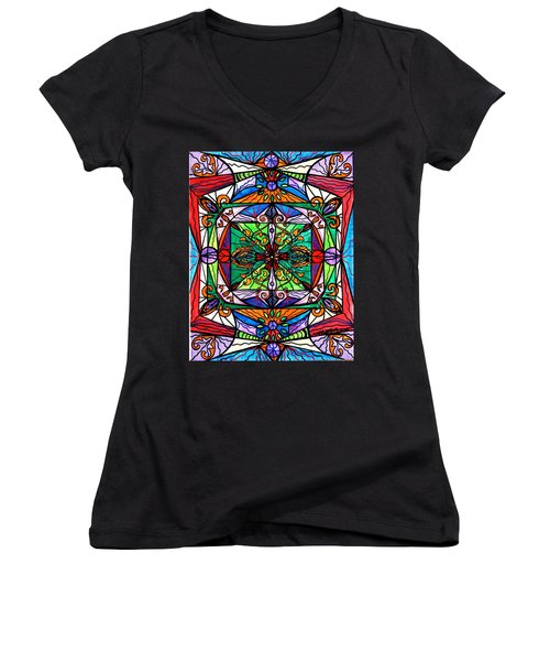 Ameliorate Women's V-Neck T-Shirt