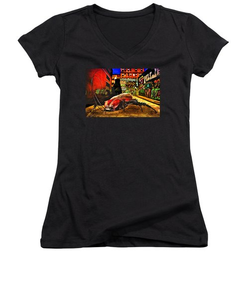 American Cockroach Women's V-Neck T-Shirt
