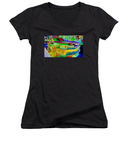 American Dream Women's V-Neck T-Shirt