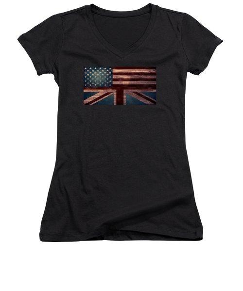American Jack I Women's V-Neck T-Shirt