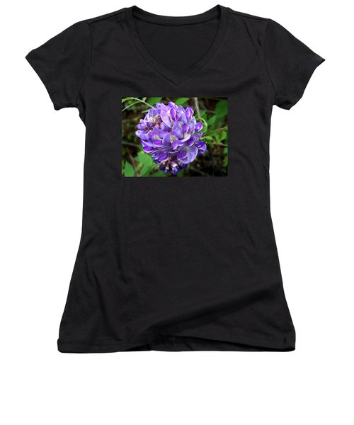 American Wisteria Women's V-Neck (Athletic Fit)