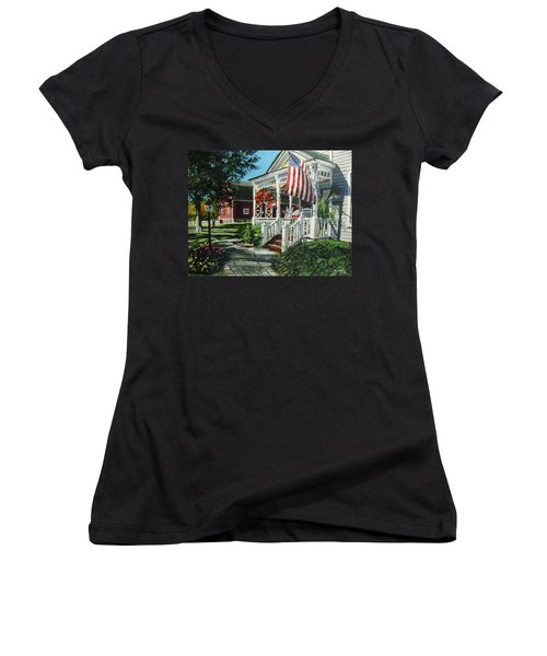 An American Dream Women's V-Neck
