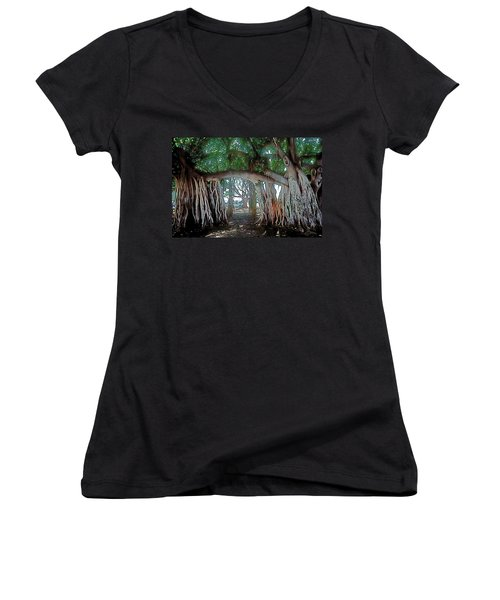 Ancient Arch Women's V-Neck T-Shirt