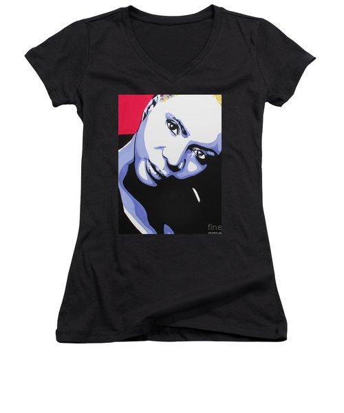 Angelique Kidjo Women's V-Neck T-Shirt