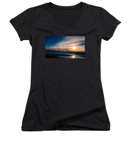 Angostura Ice 2 Women's V-Neck T-Shirt