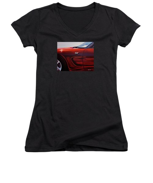 Anniversary Edition Corvette Women's V-Neck T-Shirt