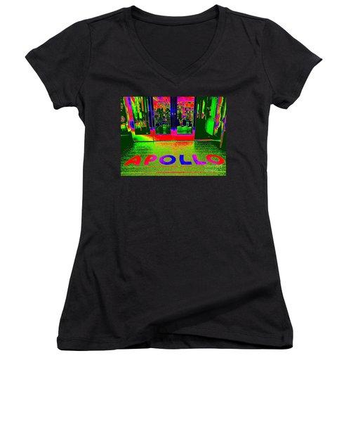 Apollo Pop Women's V-Neck T-Shirt