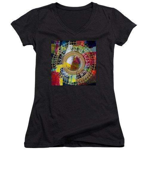 Arabesque 20 Women's V-Neck T-Shirt (Junior Cut)