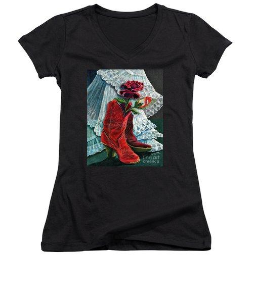 Arizona Rose Women's V-Neck T-Shirt