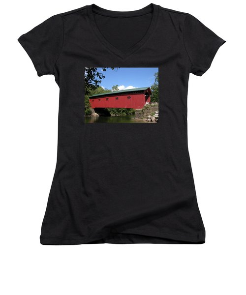 Arlington Bridge 2526a Women's V-Neck