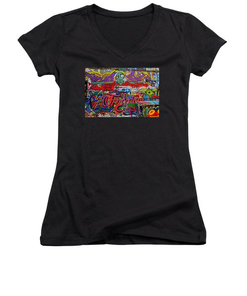 Art Alley Two Women's V-Neck T-Shirt