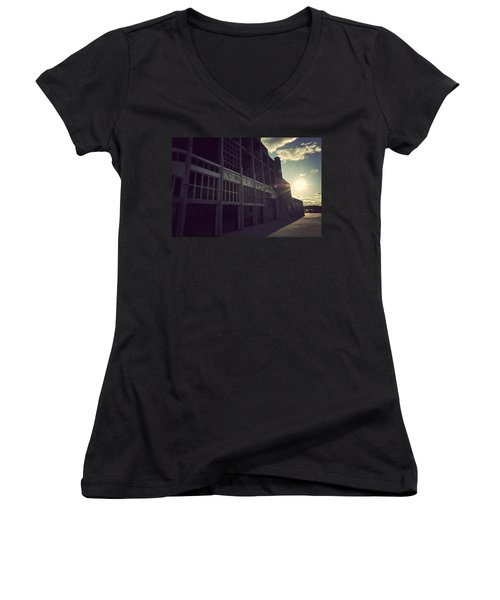 Asbury Park Nj Casino Vintage Women's V-Neck