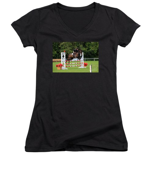 At-s-jumper132 Women's V-Neck