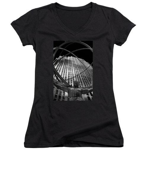 Atlas Rockefeller Center Women's V-Neck