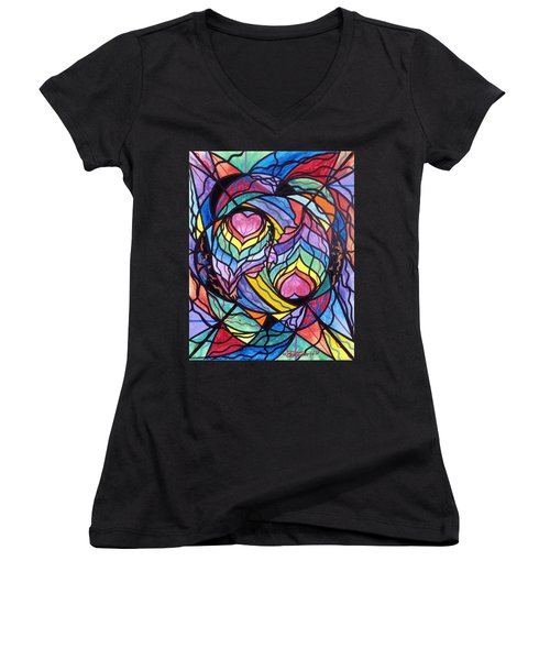 Authentic Relationship Women's V-Neck (Athletic Fit)