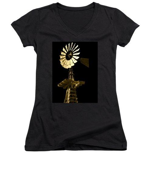 Awesome Aermotor Women's V-Neck T-Shirt
