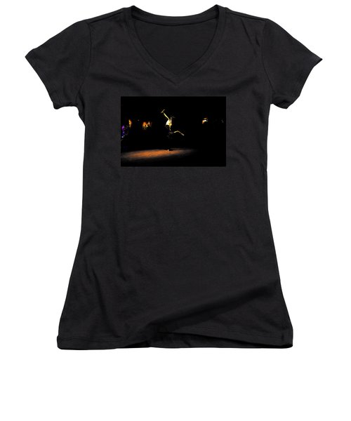B Boy 4 Women's V-Neck