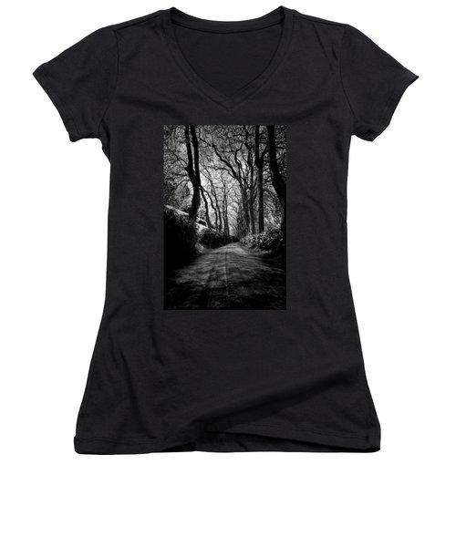 Back Road East 2 Women's V-Neck T-Shirt