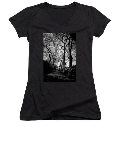 Back Road West Women's V-Neck T-Shirt