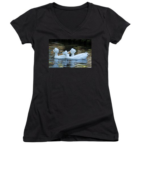 Bad Hair Day Women's V-Neck (Athletic Fit)