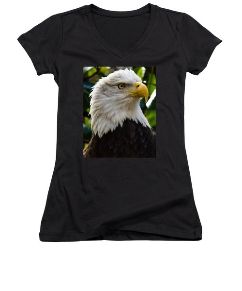 Bald Is Beautiful Women's V-Neck (Athletic Fit)