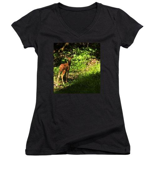 Bambi Women's V-Neck T-Shirt