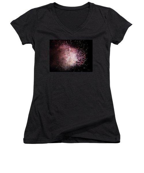 Earth's Demise Women's V-Neck T-Shirt