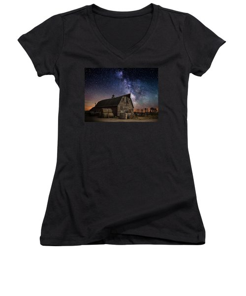 Barn Iv Women's V-Neck T-Shirt