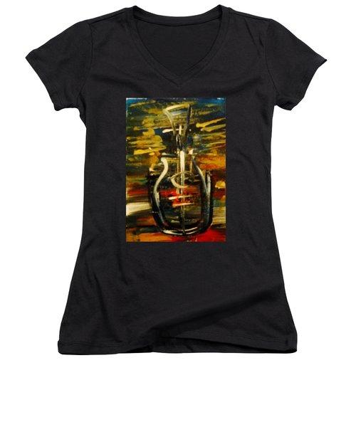 Bassguitar 2 Women's V-Neck T-Shirt
