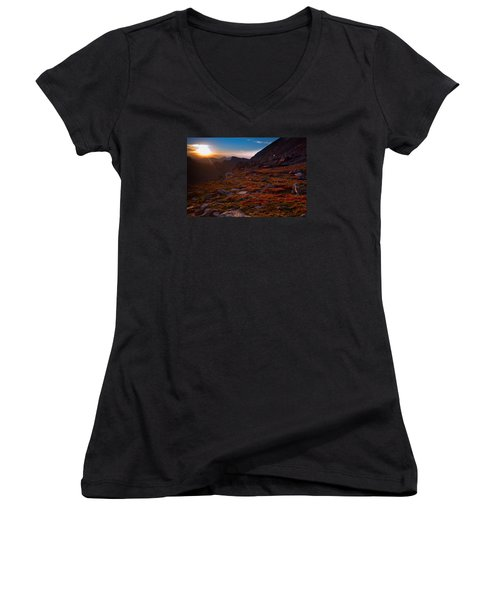 Bathing In Last Light Women's V-Neck