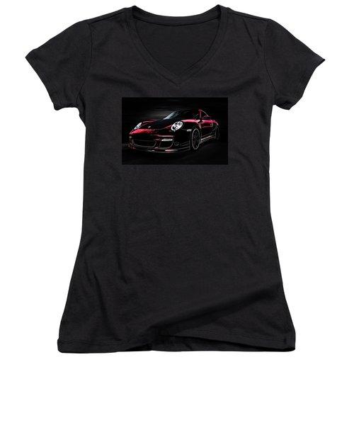 Bavarian Ghost Women's V-Neck T-Shirt