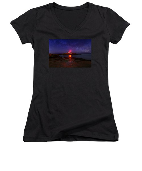 Beacon In The Night Women's V-Neck