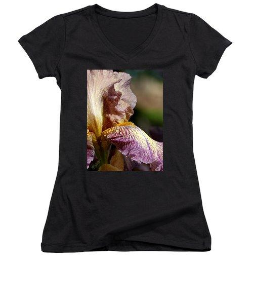 Bearded Iris #1 Women's V-Neck