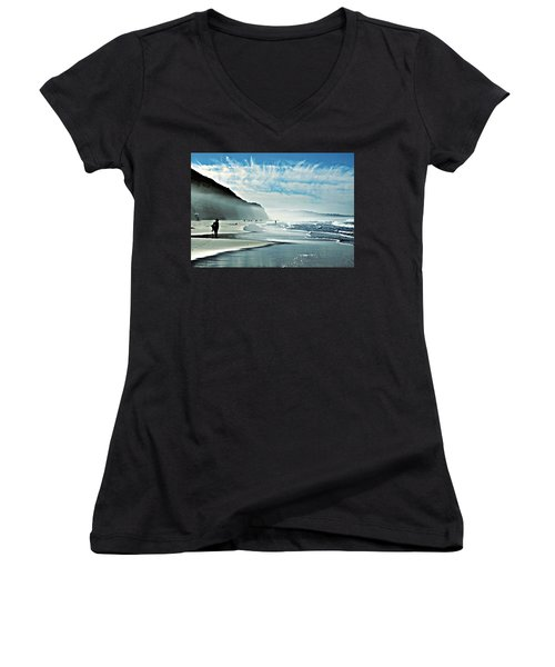 This Is The Day That The Lord Has Made... Women's V-Neck (Athletic Fit)