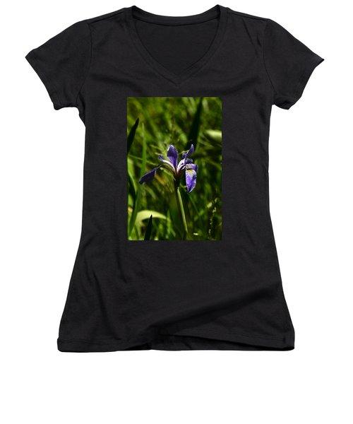 Beauty In The Grass Women's V-Neck