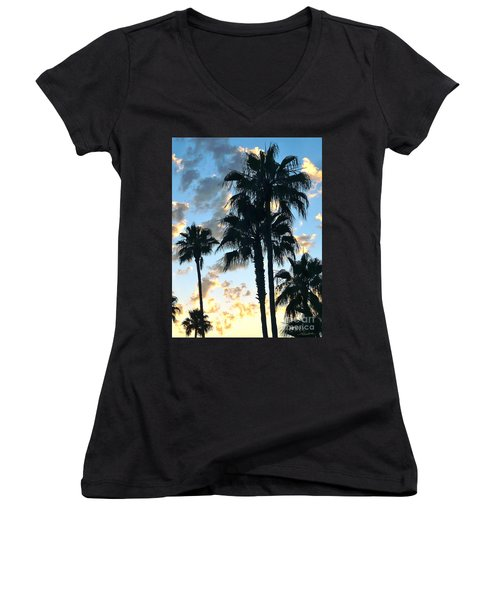 Before The Dusk Women's V-Neck (Athletic Fit)