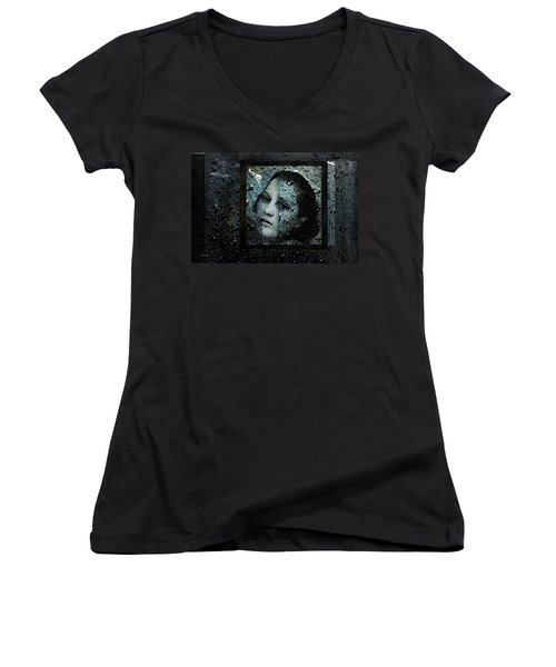Behind Waters Women's V-Neck T-Shirt