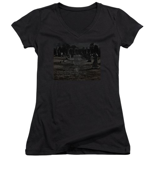 Between Life And Death Women's V-Neck