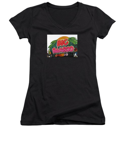 Big Bamboo Women's V-Neck (Athletic Fit)