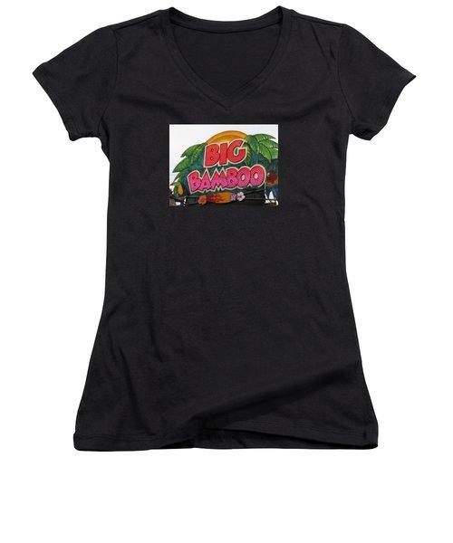 Big Bamboo Women's V-Neck T-Shirt