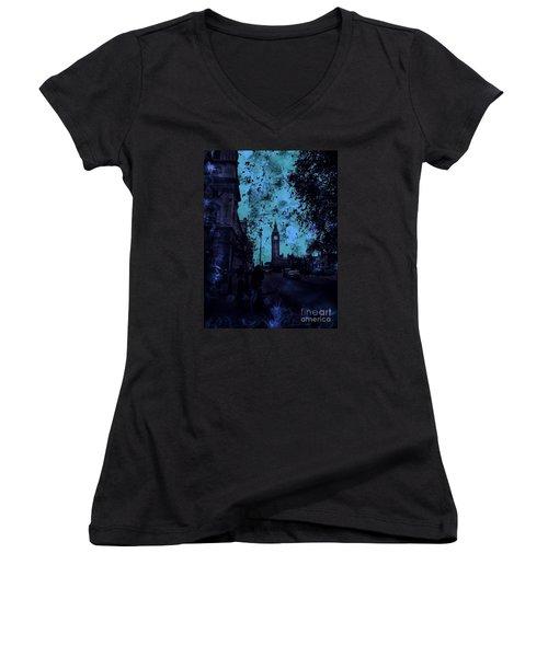 Big Ben Street Women's V-Neck T-Shirt