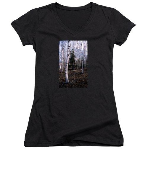 Birches Women's V-Neck T-Shirt