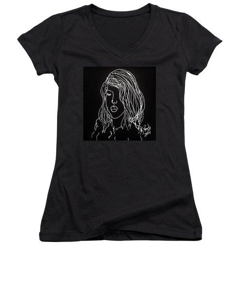 Black Book 07 Women's V-Neck T-Shirt