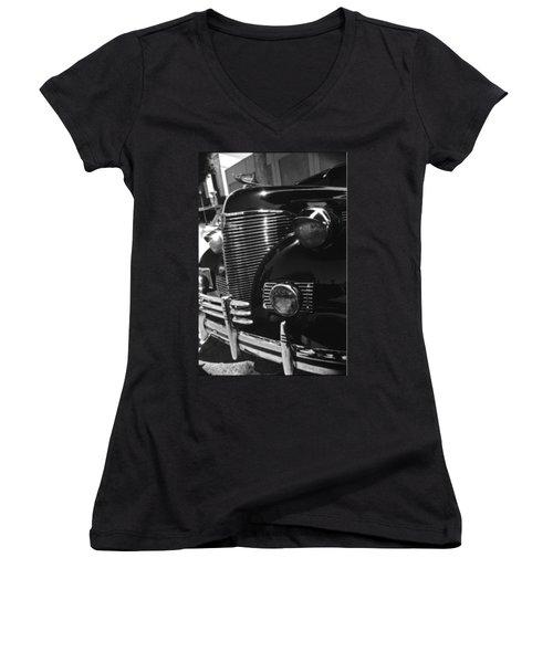 Black Knight Women's V-Neck T-Shirt